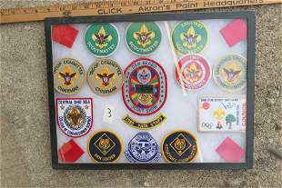 Group Lot Boy Scout Patches