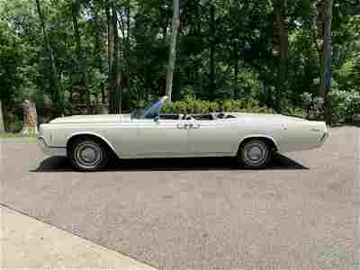 Single owner 1966 Lincoln Continental Convertible in
