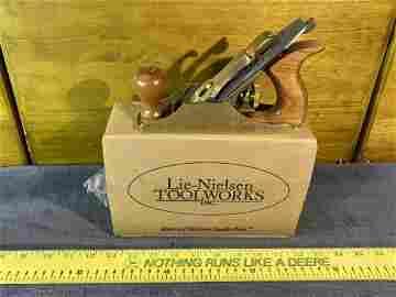 Vintage Lie-Nielsen Woodworking Block Plane No. 2