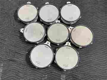 8 Roland PD-100 Mesh Drum V Pads