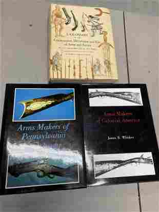 Group of books on Early Firearms