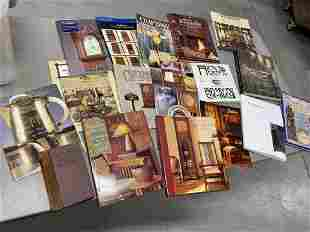 Large group lot of books on Arts & Crafts objects