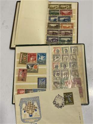 Large lot of old Stamps - Eastern European
