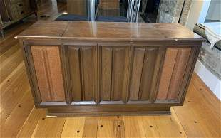 Zenith Mid-century Console Stereo with 8-Track Player