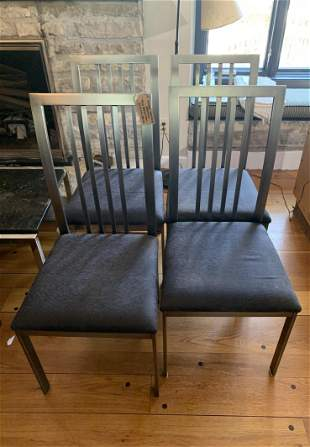 Design Institute of America Set of Dining Chairs