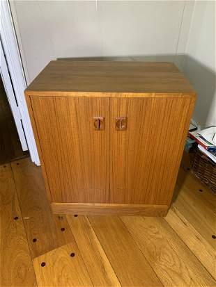 Danish Teak Mid-century Modern Wooden Cabinet (no