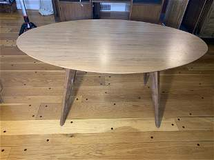 Mid Century Modern, Jens Risom style dining table