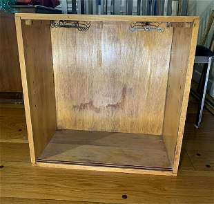 McCobb Style Cup Rack Cabinet