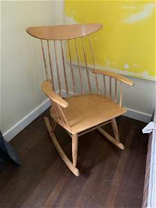 Mid-century Modern Rocking Chair Russell Wright for
