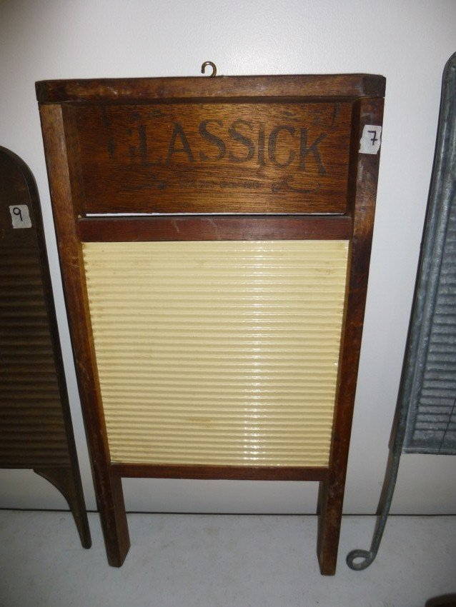 Antique washboard. Plastic.