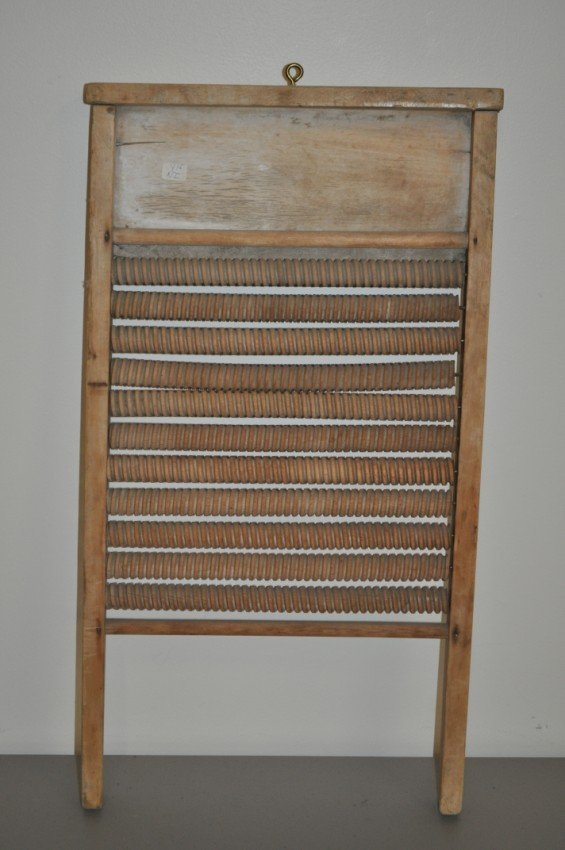Antique washboard. Mother Hubbard Inc.
