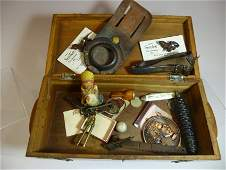 Group lot of assorted antiques