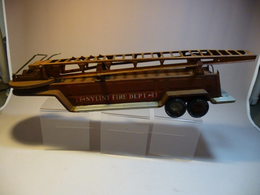 Vintage Nylant Toy Fire Engine Ladder section.