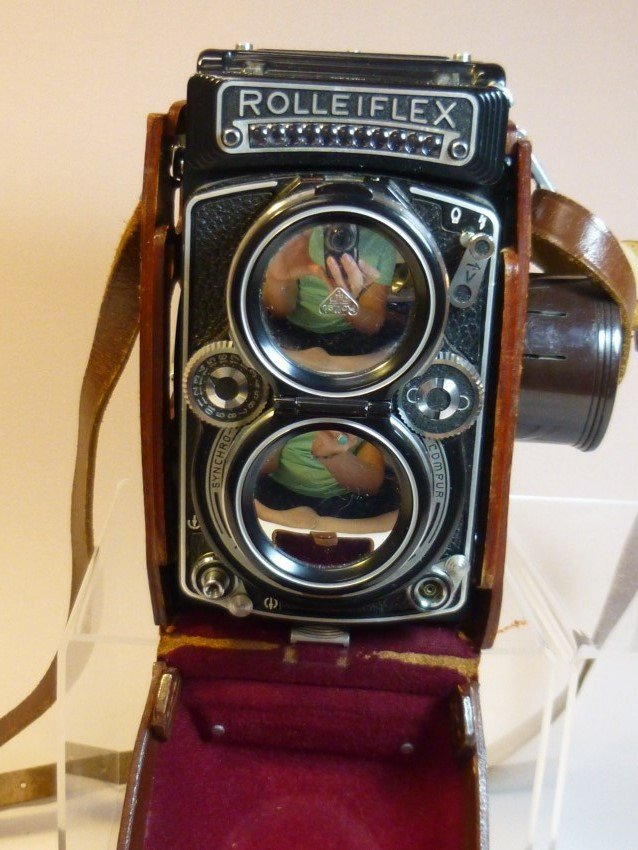 1956 Rolleiflex 2.8E Camera with  Franke & Heidecke