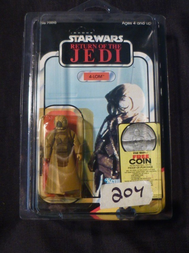 1983 Kenner Star Wars action figure in original