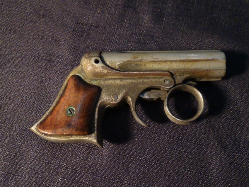 Remington Elliot Model Pepperbox Pistol.