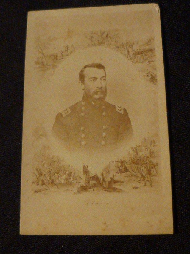 CDV Photo of General Sheridan - Civil War