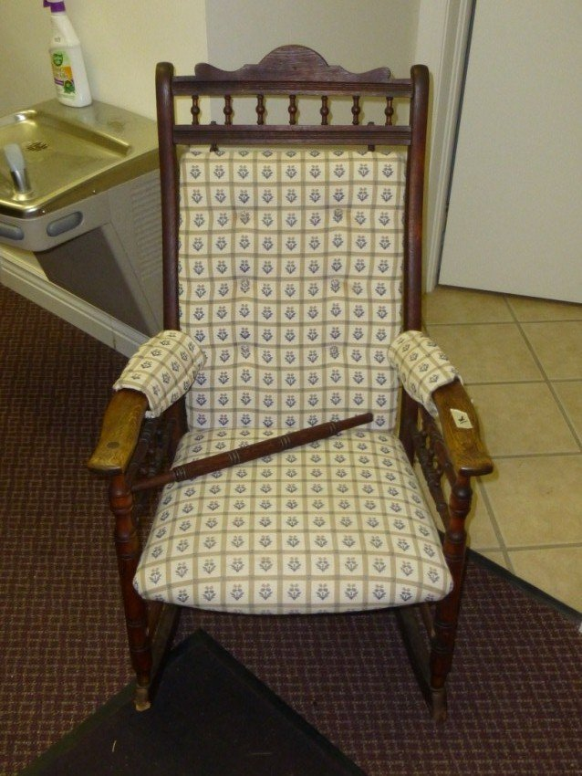 Antique Rocking Chair.