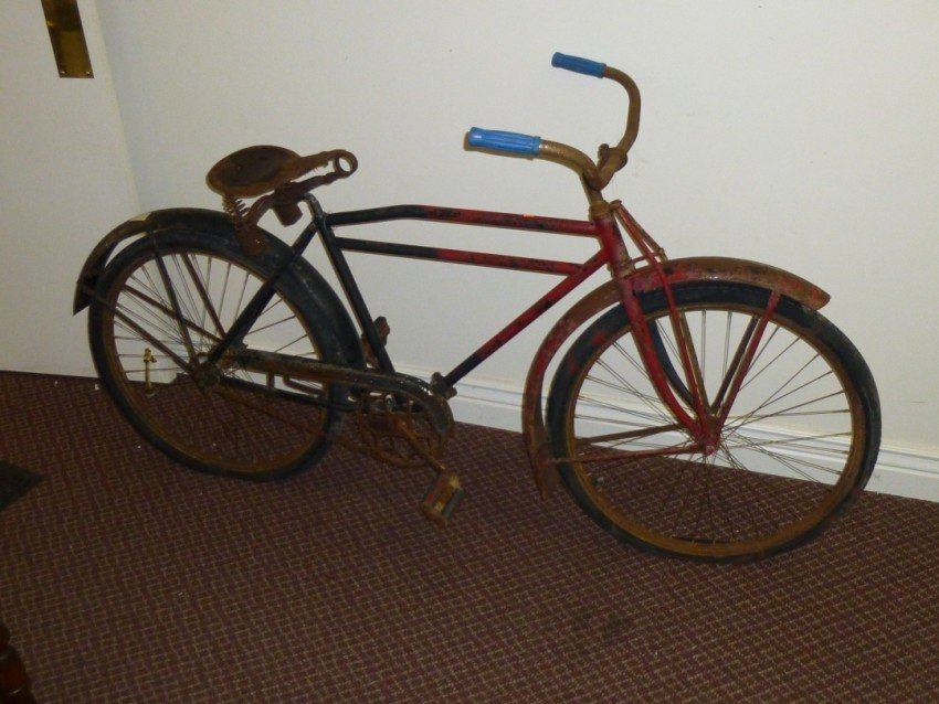 Early Hawthorne Flyer Bicycle