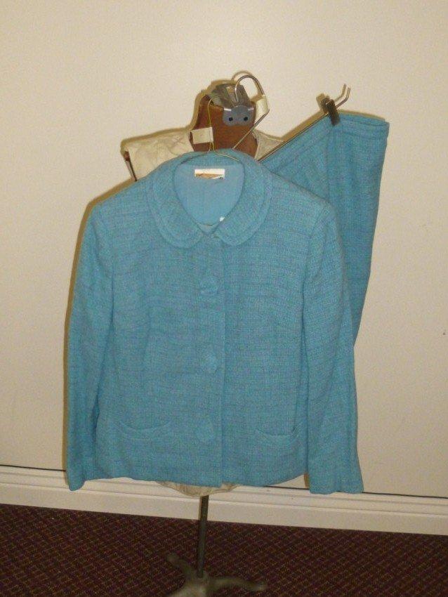 Blue 50s Lady's Suit