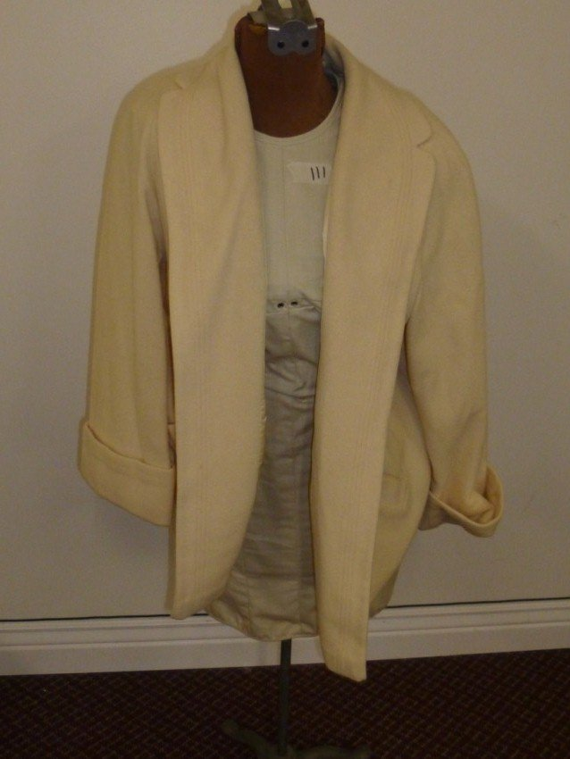 Cream Colored Lady's Jacket