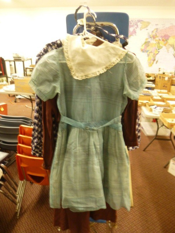 Group lot: 2 Lady's Dresses, Top/Skirt Set - VINTAGE
