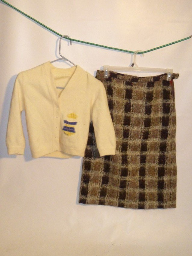 Skirt and Sweater set - Vintage