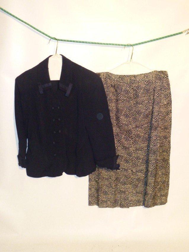 Vintage Jacket and Skirt Set
