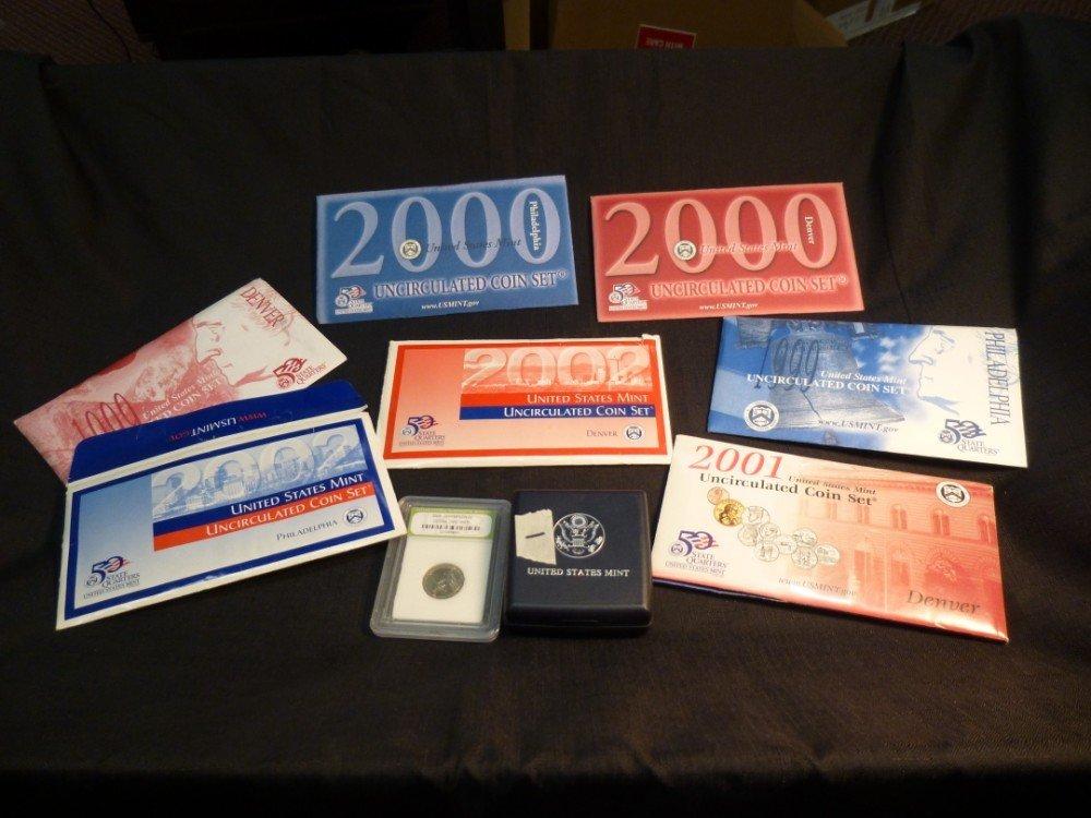 8 Mint Sets Plus Jefferson Nickel, etc.