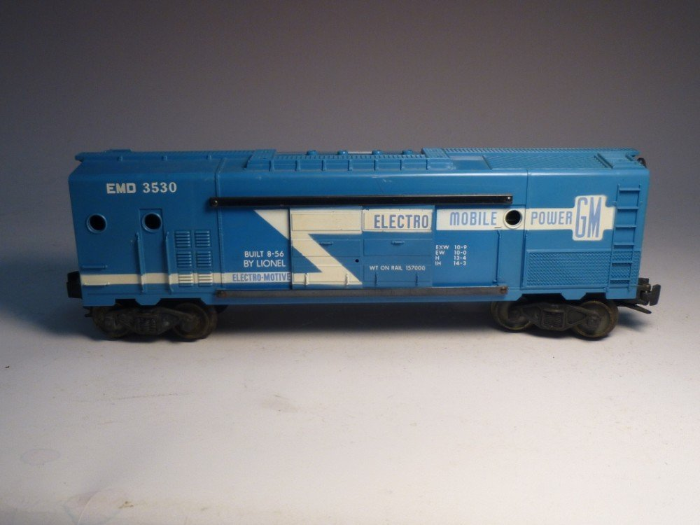 Lionel 3530 Electro Mobile model railroad car