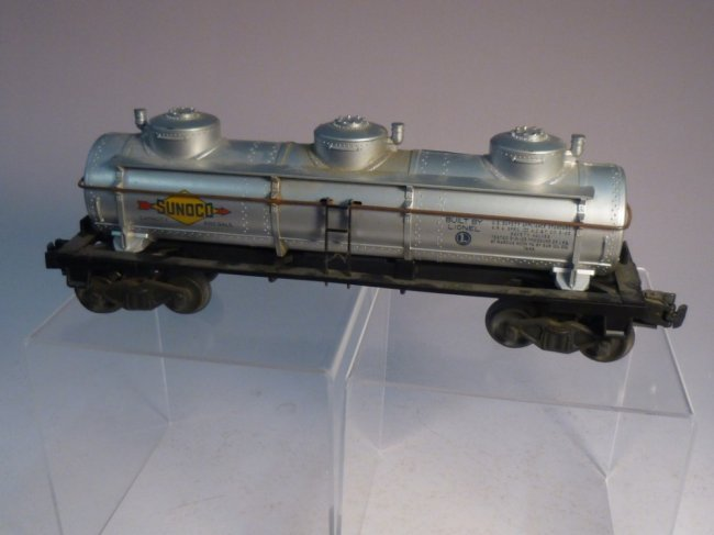 Lionel Sunoco Model Railroad tanker car