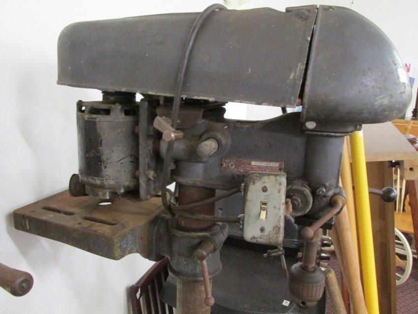 Delta Milwaukee Drill Press PLUS air compressor - 3