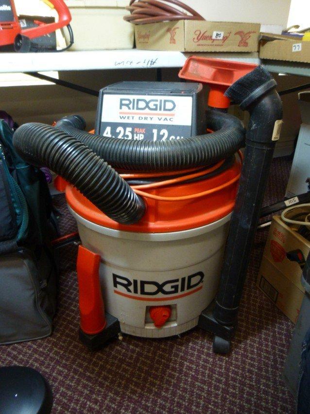 Rigid 12 gallon, 4.25 hp Shop Vac