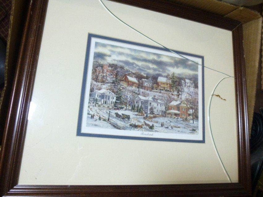 Pair of Vintage Ed Kitchen prints. - 3