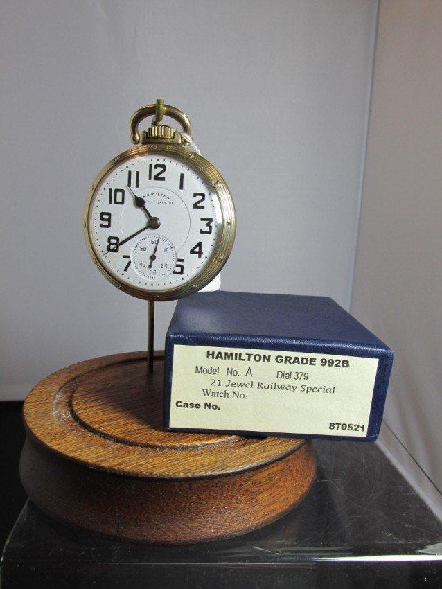 Hamilton Railroad Special Pocket Watch