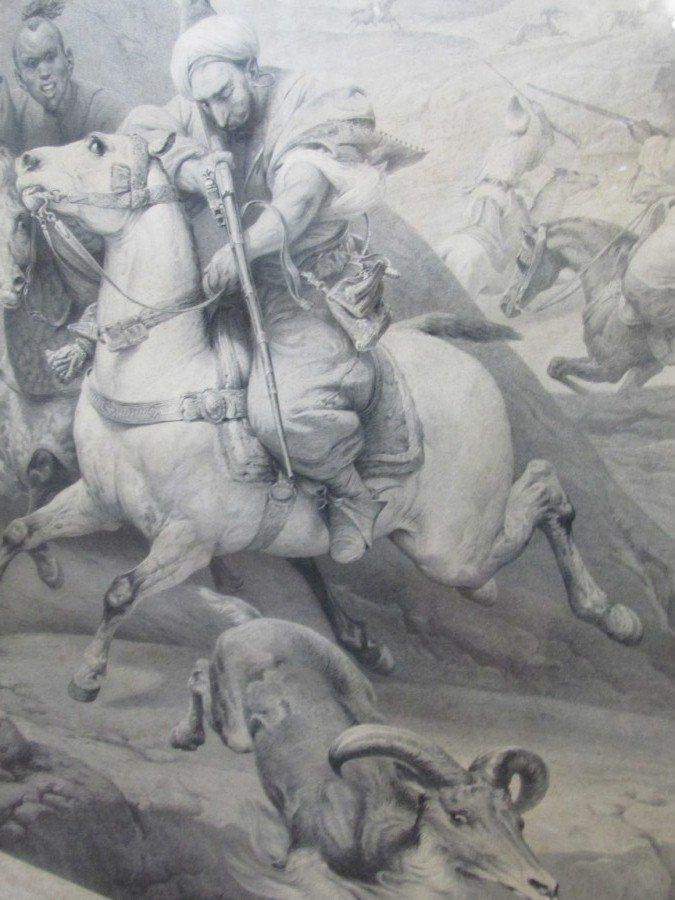 Large 19th. Century Print