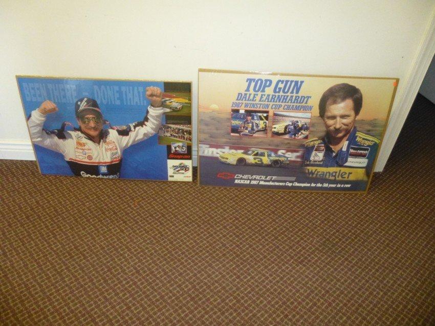 2 Dale Earnhardt Posters