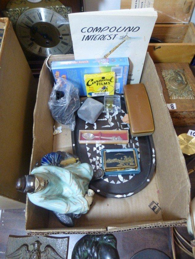 Box lot of vintage items