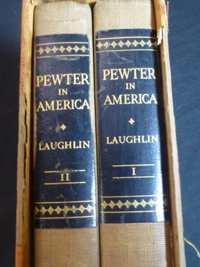 Two Volume Set - Pewter in America