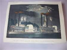 Currier & Ives original print