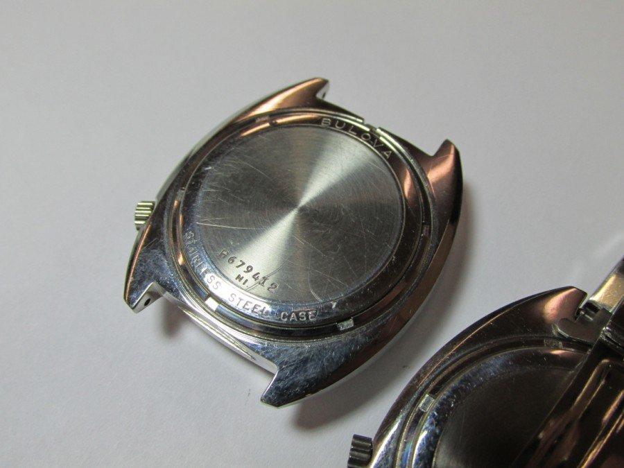 2 Rare Bulova Accutron Watches w/Blue Faces - 5