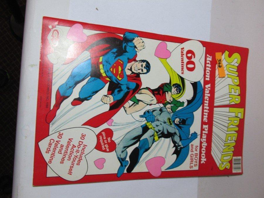 Vintage Superman Valentine's Day craft book