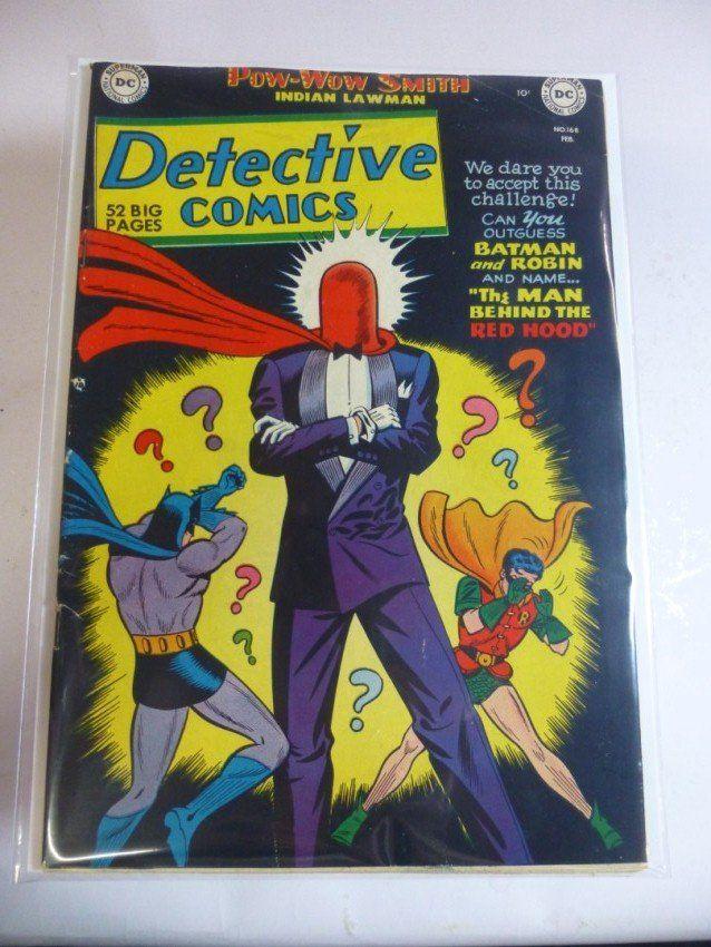 Early Comic Book: DC Detective Comics #168