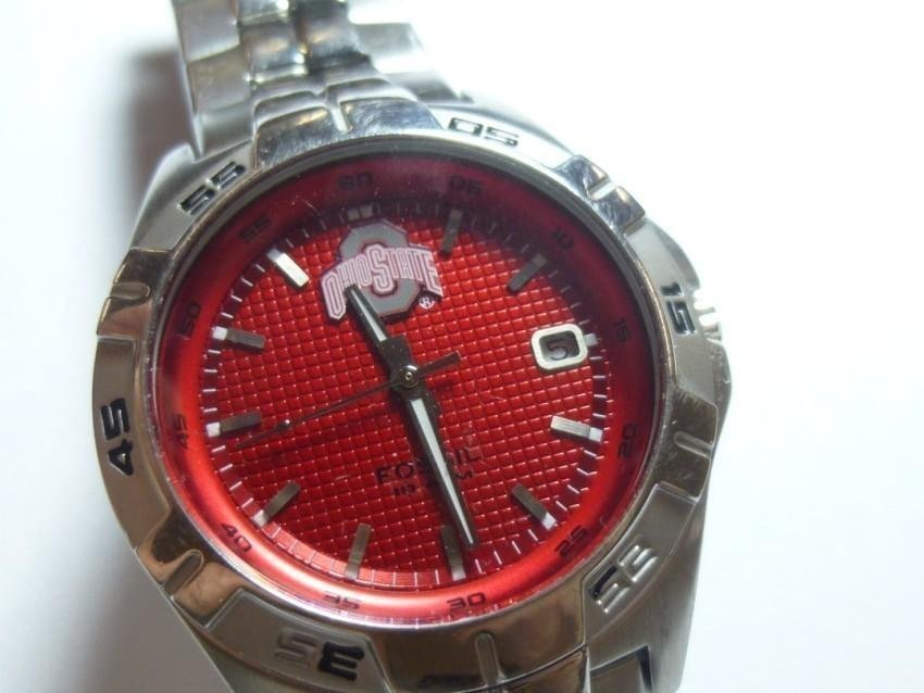 Ohio State Buckeyes Watch by Fossil
