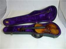 Fine Early Tiger Maple Violin