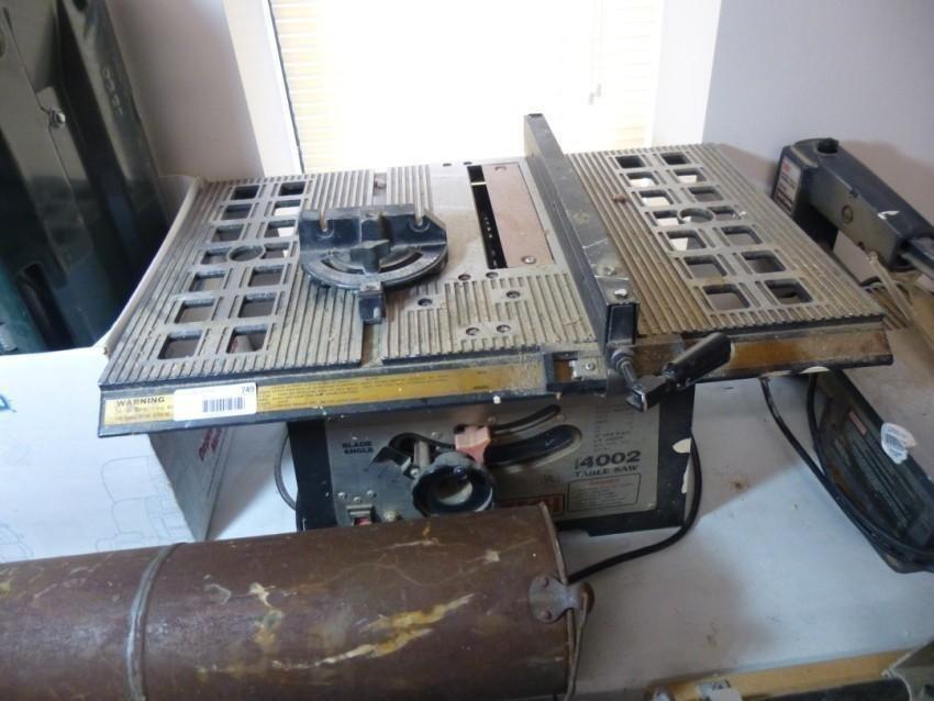 Pro-Tech 4002 Table Saw
