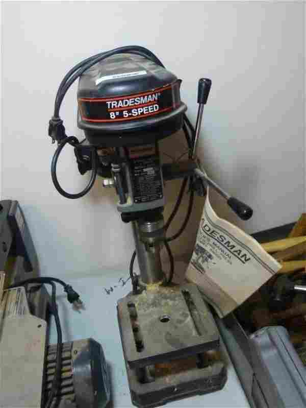 """Tradesman 8"""" 5 Speed Drill Press"""