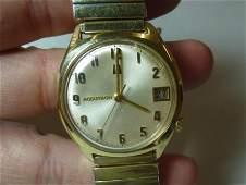 Vintage Accutron Date Men's Watch