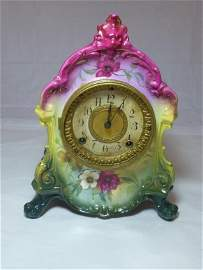 Royal Bonn Ceramic Ansonia Clock