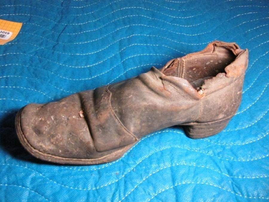 Old Civil War Soldier's Brogan Shoe